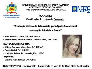 Convite Qualificação Luana
